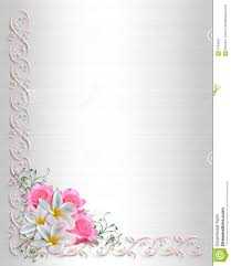 wedding invitation background floral border royalty free stock