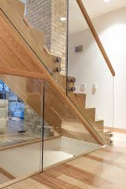 Glass Floor L Canada Glass Railing Cost Staircase Modern With Stair Designer