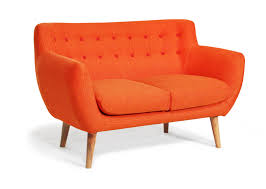 slim two seater sofa furniture designing home view rukle dashing orange sofa for idolza