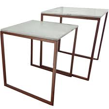 side table set of 2 2 piece atlas side table set temple webster