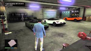 gta 5 best looking garage on gta v rare cars youtube