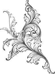ornamental scroll growth stock photos freeimages