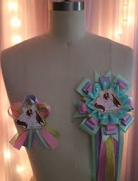 baby shower sash ideas baby unicorn baby shower mommy and daddy to be corsage set