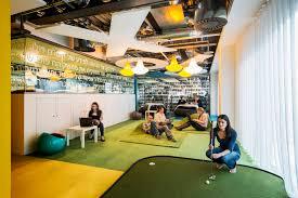 Google Headquarters Interior Google Campus Dublin Camenzind Evolution Henry J Lyons