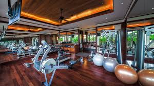 fitness room villa horizon phuket