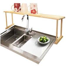 Kitchen Sink Shelf Organizer by Italia Kitchen Sink Shelf In Stainless Steel Uk3540 The Home Depot