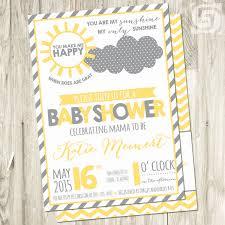 sunshine invitation baby showers u0026 announcements