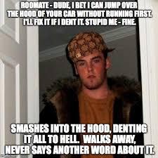Meme Word Generator - scumbag steve meme generator imgflip
