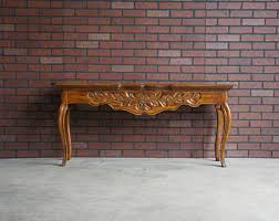 French Provincial Sofa Table Coffee Table French Provincial Coffee Table Country French