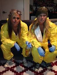 breaking bad costume yellow hazmat suit fancy dress breaking bad costume heisenberg