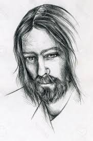 pencil sketches of jesus christ pencil art drawing