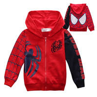kids spiderman outerwear sweatshirt jacket coat price comparison
