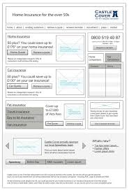 20 examples of web and mobile wireframe sketches wireframe user