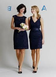short dark blue bridesmaid dresses 2016 2017 b2b fashion
