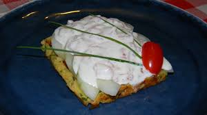 raifort cuisine pâte à gaufre salée gaufre aux saumon raifort fromage frais