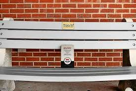 Recycled Plastic Benches For Schools Pa Environment Digest Blog Keep Pa Beautiful Benches Made From