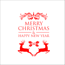 merry christmas and happy new year wall stickers wall decals christmas happy new year wall decals