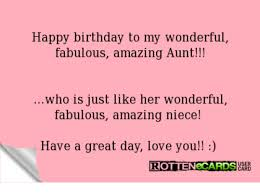 Happy Birthday Love Meme - happy birthday to my wonderful fabulous amazing aunt who is just