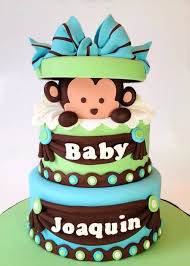 monkey baby shower cake monkey baby shower cake for amélie falcon borduas onéreuse day