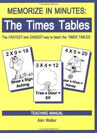 how to learn times tables in 5 minutes memorize in minutes the times tables by alan walker