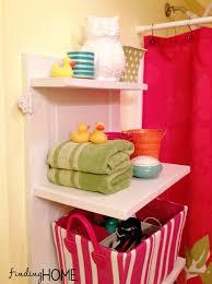 Bathroom Storage Shelf Bathroom Storage Solutions Diy Door Shelf Finding Home Farms