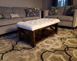 Etsy Ottoman Ottoman Coffee Table Etsy