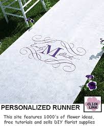 personalized aisle runner personalized aisle runner