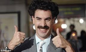 Borat Not Meme - borat national anthem played after kazakh medal in shooting