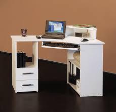 Arbeitstisch Klein 4505 115cm Eck Schreibtisch Computertisch In Weiß Amazon De
