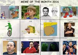 Meme Calendar - meme of the month 2016 official calendar re revised dankmemes