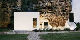 cave home in spain spanish home made of stone