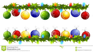 ornaments clipart border pencil and in color