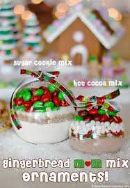 gingerbread m u0026m cocoa mix ornaments recipe cocoa mixes