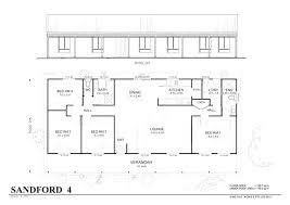 4 bedroom open floor plans simple 4 bedroom floor plans simple bedroom floor plans met kit