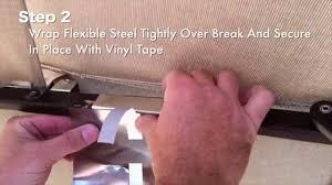 13 Patio Umbrella by How To Repair A Broken Patio Umbrella Rib Repair Instructions For