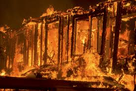 Wildfire Chicago by California Town Told To Prepare To Leave As Wildfire Surges Cbs News