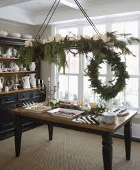 Christmas Buffet Table Decoration Ideas by 30 Cool Green Christmas Decorations Digsdigs