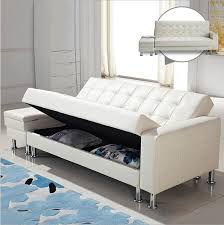 bedroom furniture leather couch pull out bed sleeper sofa