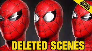 spirit halloween spiderman spider man homecoming deleted scenes youtube