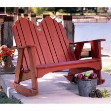 Outdoor Rockers Uwharrie Chair 1053 044 Original Outdoor Two Seater Rocking Chair