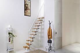 Small Stairs Design Interior Modern Minimalist Home Decoration Using Spiral Staircase
