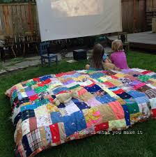 backyard movie home is what you make it image on astonishing