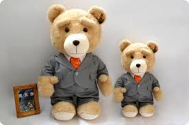 high quality sell new teddy 45cm 60cm soft bear ted movie