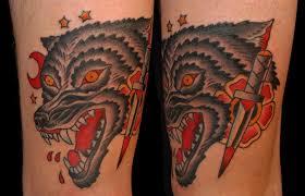 more wolf tattoos surprised
