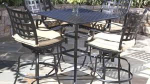 outdoor pub table sets patio furniture pub table sets archives formabuona intended for