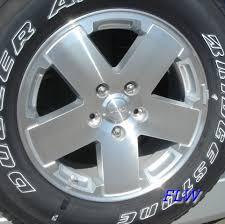 2009 jeep wrangler wheels 2009 jeep wrangler oem factory wheels and rims