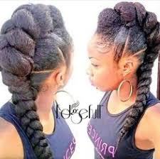 braids hairstlyes for black women with thinning edges adorable braids twist pinterest hair style natural and