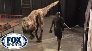 halloween dinosaur shocks suns u0027 players youtube