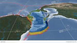 Map Of Tectonic Plates Caribbean Tectonic Plate Blue Marble Stock Animation 6635166