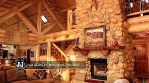 beautiful log home interiors snowbasin luxury log home